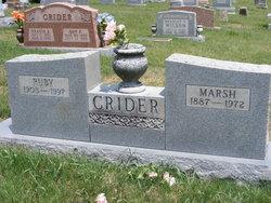 "Marshall Denton ""Marsh"" Crider"