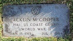 Acklin Morris Cooper, Jr