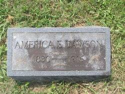 America Emaline <I>Drane</I> Dawson