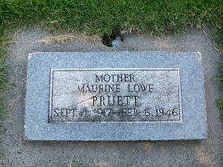 Maurine <I>Lowe</I> Pruett