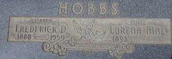 """Frederick Daniel """"Fred"""" Hobbs"""