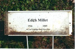 Edith Millet
