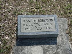 Jessie M Robinson