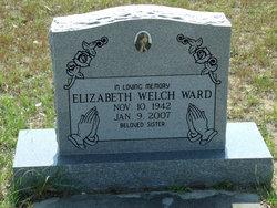 Elizabeth <I>Welch</I> Ward