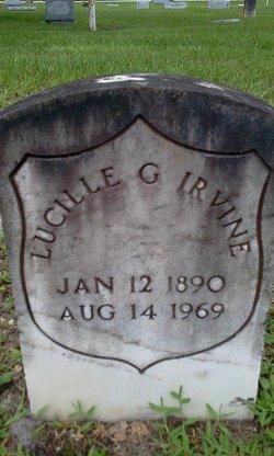 Lucille Grace Irvine