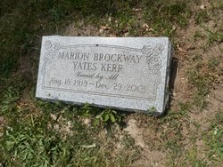 Marion <I>Brockway</I> Kerr