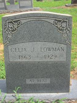 Celia J <I>Franklin</I> Lowman