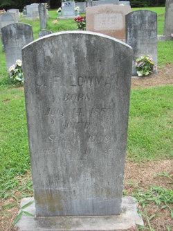 John Franklin Lowman