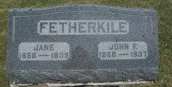 John F. Fetherkile