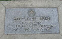 Wells E Hendren