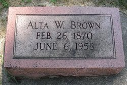 Alta Grace <I>Wrenwick</I> Brown