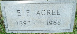 Edgar Franklin Acree