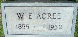 William Edgar Acree