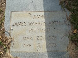 "James Warren Arthur ""Jimbo"" Pittman"