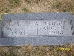 Rose E. <I>Huesing</I> Albright