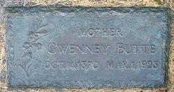 Gwenney <I>Evans</I> Butte