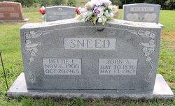 John A Sneed