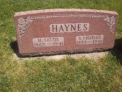 "Mary Elizabeth ""Lizzie"" <I>Puckett</I> Haynes"