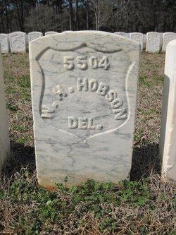 Pvt William H. Hobson