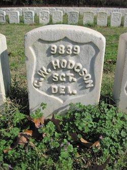 Sgt George W. Hodgson
