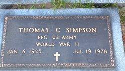 Thomas C Simpson