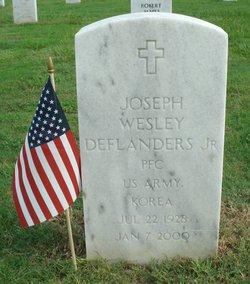 PFC Joseph Wesley Deflanders, Jr