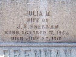 Julia <I>Gormley</I> Brennan