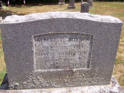 """Mary Louise """"May"""" <I>Patterson</I> Boyden"""