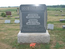 Sarah Ann <I>Coombs</I> Colglazier