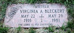 Virginia A Bleckert