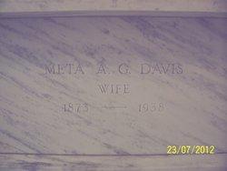 Meta A. <I>Gallon</I> Davis