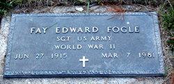 Sgt Fay Edward Fogle
