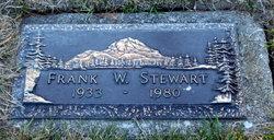 PFC Frank W Stewart