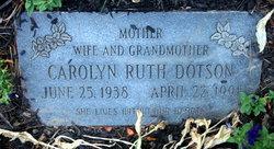 Carolyn Ruth Dotson