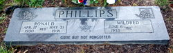 """Ronald """"RED"""" Phillips"""