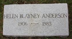 Helen <I>Blayney</I> Anderson