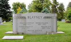 Minnie Gray <I>Hallack</I> Blayney
