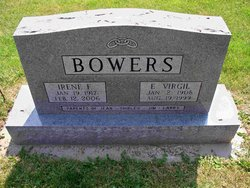 Irene F <I>Vogel</I> Bowers