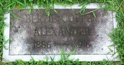 Bertie Grant <I>Copper</I> Alexander