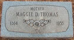 Maggie D. <I>Johnson</I> Thomas