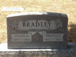 Amanda Josephine <I>Clonts</I> Bradley