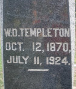 William Dickey Templeton