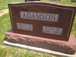 Grace Marie <I>Engle</I> Adamson