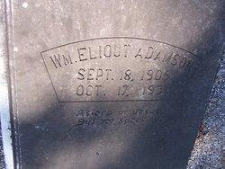 William Elliott Adamson