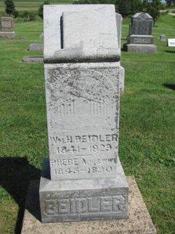 Phebe Ann <I>Warner</I> Beidler