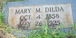 """Mary M. """"Polly"""" <I>Corley</I> Dilda"""
