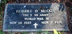 Robert D McCoy
