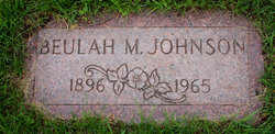 Beulah M Johnson