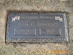 Julia Charlotte <I>Guderjahn</I> Albright