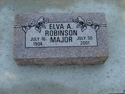 Elva A. <I>Robinson</I> Major